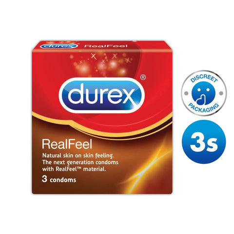 Durex Condoms: RealFeel (3 pack)