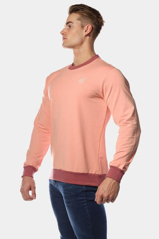 Jed North: Rush Crew Neck - Pink