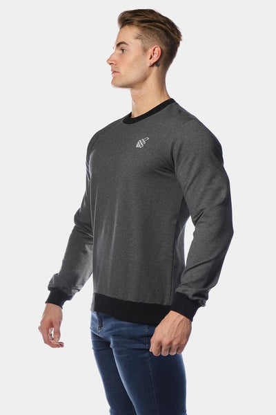 Jed North: Rush Crew Neck - Gray