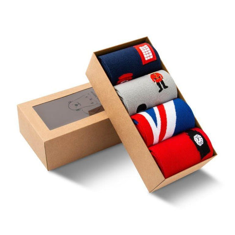 Jed North Crew Socks: British Collection