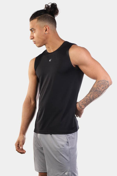 Jed North: Synergy Muscle Tee - Black