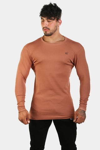 Jed North: Diverge Long Sleeve Tee - Bronze
