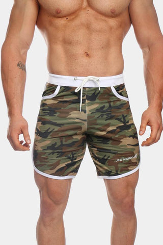Jed North: Ace Sports Shorts - Camo