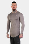 Jed North: Evolve Long Sleeve T-Shirt - Gray