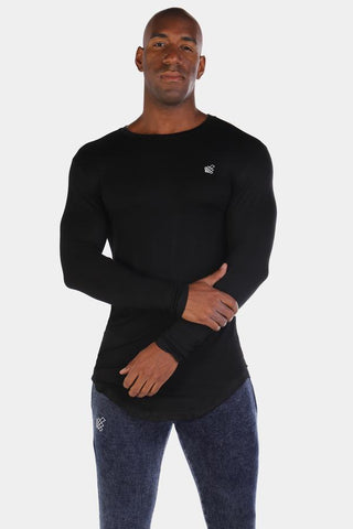 Jed North: Evolve Long Sleeve T-Shirt - Black