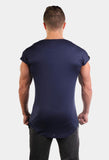 Jed North: Evolve Capped Sleeve Tee - Navy