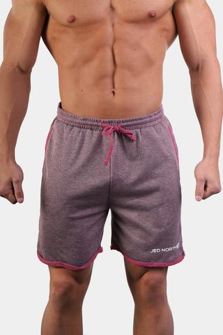 Jed North: Stance Athlete Sweat Shorts - Purple
