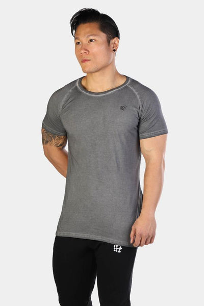 Jed North: Vintage Washed T-Shirt - Gray