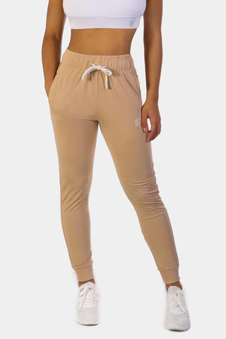 Jed North: Missy Track Pants - Beige