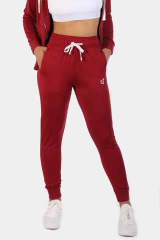 Jed North: Missy Track Pants - Red
