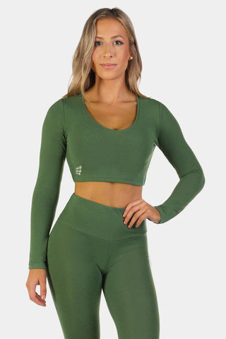 Jed North: Koko Lounge Top - Green