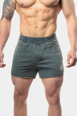 Jed North: Denim Shorts - Light Blue