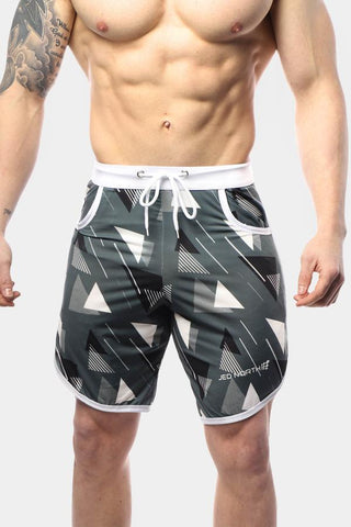 Jed North: Ace Sports Shorts - Geometric