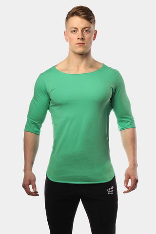 Jed North: The Three Quarter Shirt - Green
