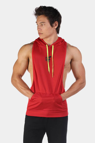Jed North: Stringer Hoodie - Red
