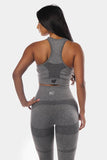 Jed North: Supple Seamless Sports Bra - Gray