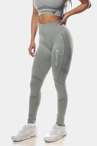 Jed North: Supple Seamless Leggings - Gray