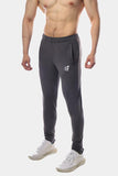 Jed North: Matrix Tapered Joggers - Gray