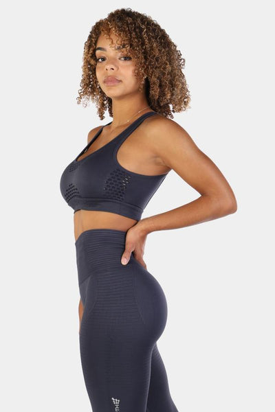 Jed North: Luxe Sports Bra - Navy
