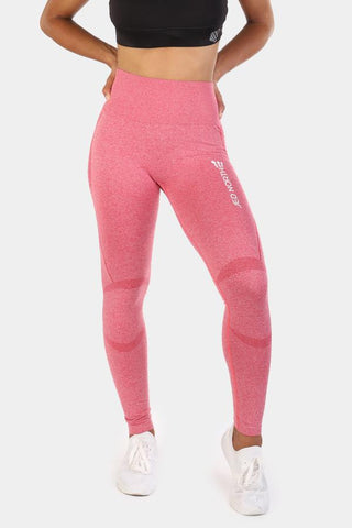 Jed North: Supple Seamless Leggings - Pink