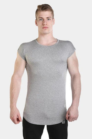 Jed North: Evolve Capped Sleeve Tee - Gray
