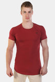 Jed North: Atlas Scoop Tee - Red