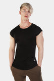 Jed North: Evolve Capped Sleeve Tee - Black