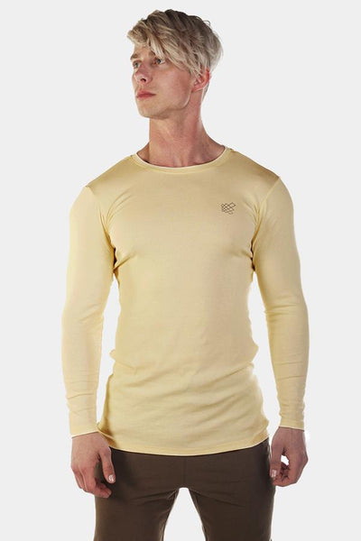 Jed North: Diverge Long Sleeve Tee - Yellow