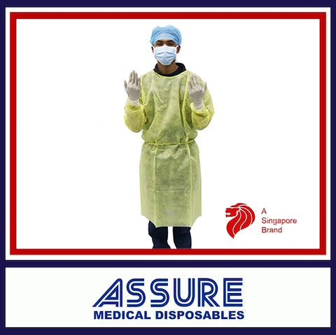 Assure High Risk PPE Isolation Gown (AAMI Level 4)
