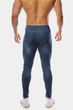 Jed North: Zeus Slim Fit Jeans - Blue