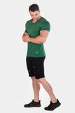 Jed North: Basic V-Neck Tee - Green