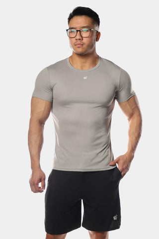 Jed North: Microfiber Dri-Fit T-Shirt - Gray
