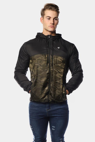 Jed North: Warrior Camo Windbreaker Jacket