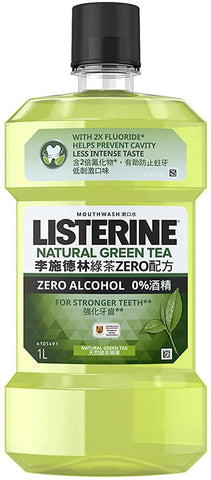 Listerine: Mouthwash Green Tea Zero Alcohol