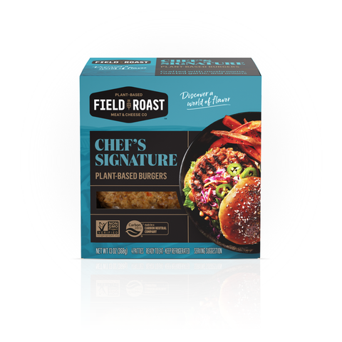 Field Roast Chef's Signature Burger