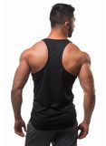 Jed North: Microfiber Dri-Fit Stringer - Black