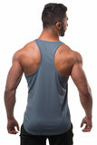 Jed North: Microfiber Dri-Fit Stringer - Charcoal Gray
