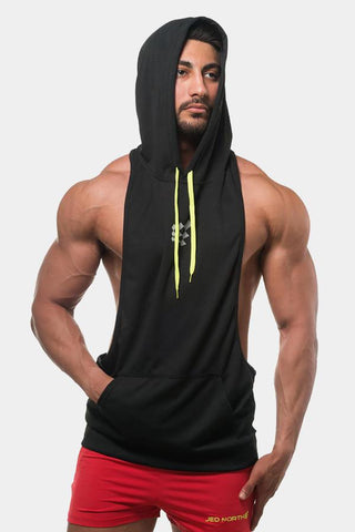 Jed North: Stringer Hoodie - Black