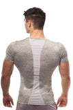 Jed North: Apex Mesh Performance Tee - Gray