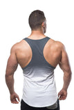Jed North: Deep-Cut Stringer - Gradient Gray