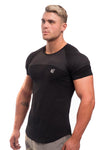 Jed North: Core Mesh T-Shirt - Black