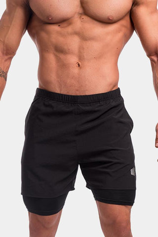 Jed North: Dexter Flow Performance Shorts - Black