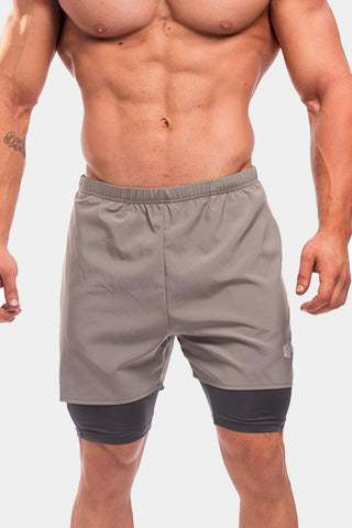 Jed North: Dexter Flow Performance Shorts - Gray