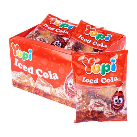 Yupi Iced Cola Candy (45g x 12)