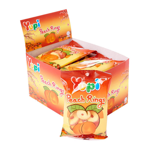 Yupi Peach Rings Candy (45g x 12)