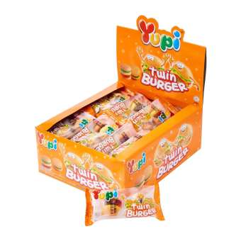 Yupi Twin Burger (Box of 24)