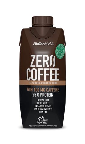 BioTechUSA: Zero Coffee (Protein Shake, Ready To Drink)