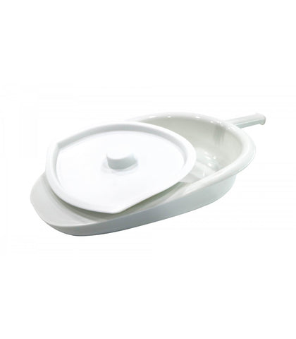 ASSURE Bedpan With Cover, 1 Set