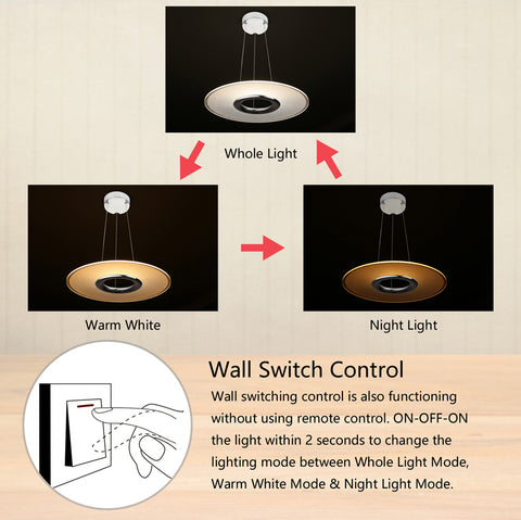 DALEN PENDANT WALL SWITCH CONTROL