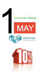 Threecubes Labour Day Online Promotion